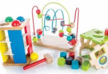 Stymulujące zabawki dla niemowląt