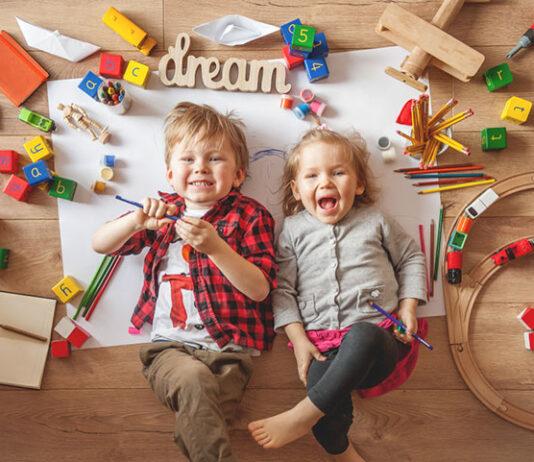 Top 7 zabaw dla dzieci w domu